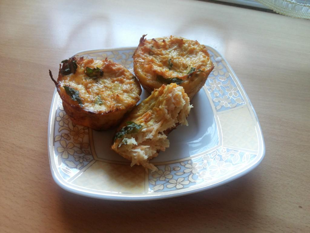 Briose cu legume si pui pentru bebelusi (2)