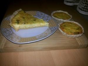 Quiche cu legume si branza (1)