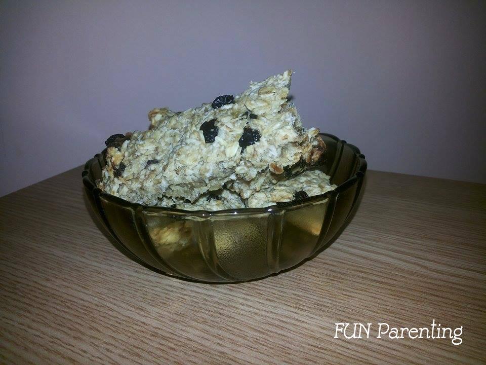 Batoane cu cereale si banane (2)