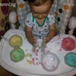 Cum sa faci vopsele pentru bebelusi, netoxice