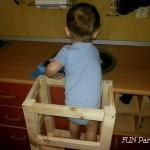 Cum sa faci un turn pentru copii (Learning Tower)