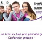 Conferinta gratuita pentru tinerii care au pierdut un om drag