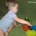 Activitati de transfer, copil ocupat si multa distractie