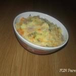 Salata de boeuf cu maioneza usoara (pentru femei insarcinate si copii mici)