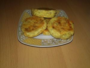 Chiftele din cartofi la cuptor