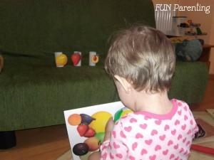 Darama fructele - joc de coordonare mana-ochi 2
