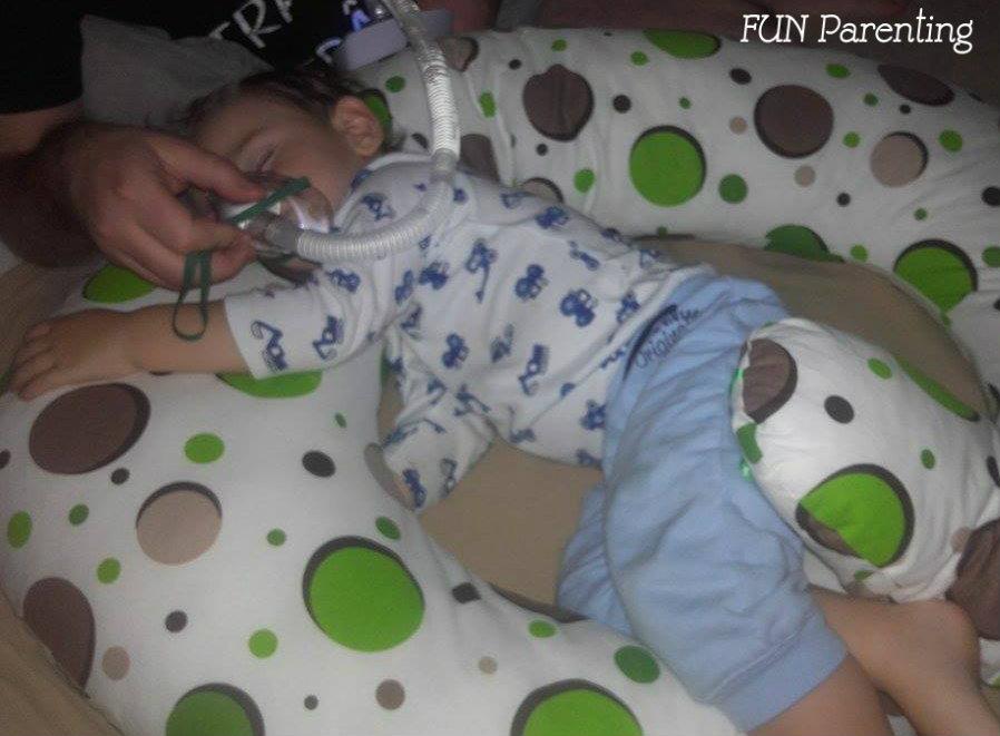 Terapia cu aerosoli la copii mici