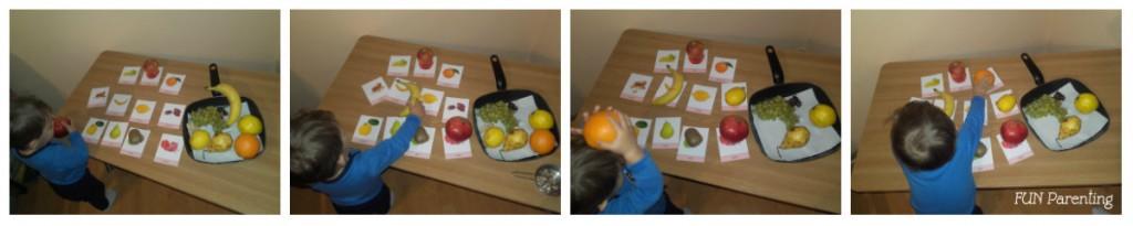 Carduri cu fructe si legume-colaj 1