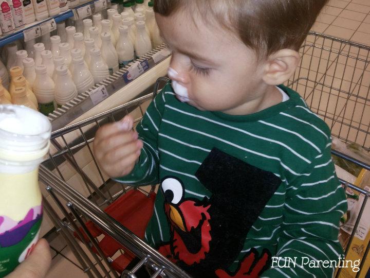 Cu copilul la cumparaturi trucuri pentru a evita crizele de furie