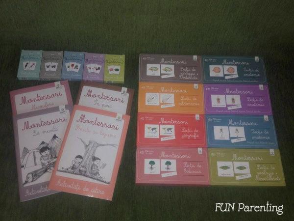 Lectii Montessori, Editura Gama, 3 ani+ si 4 ani+