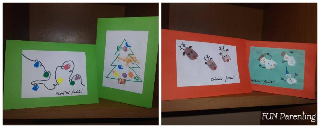 Felicitari handmade facute cu copii mici2