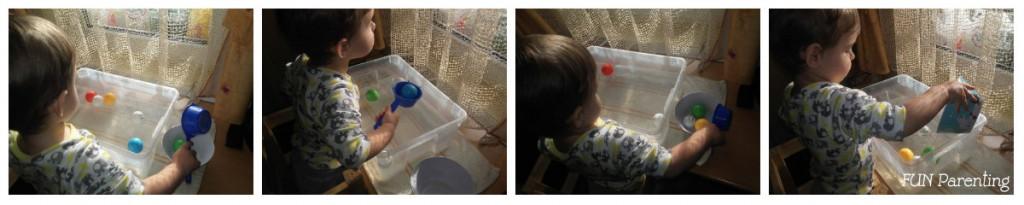 Sorteaza mingiile si invata culorile (2)