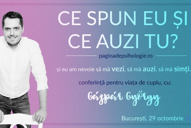 """""""Ce spun eu și ce auzi tu"""" cu Gaspar Gyorgy voucher de reducere (carti)1"""