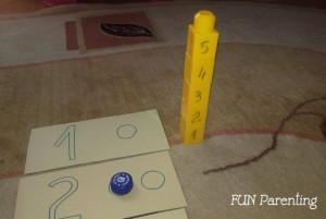 3 idei simple sa inveti copilul numerele3