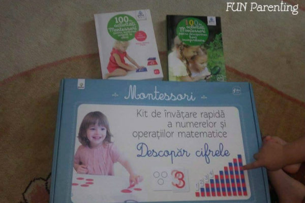 """Descopar cifrele"", un kit Montessori util"