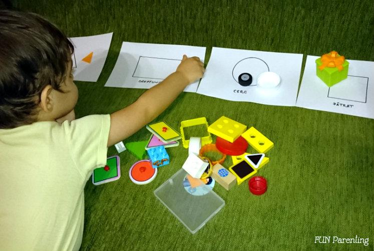 Asociere si forme geometrice3-1