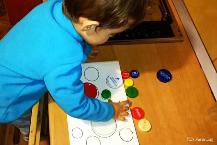 Capace, cercuri si culori