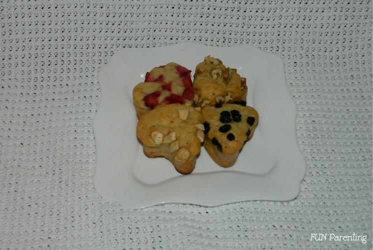 Briose cu banane si iaurt (fara zahar)1