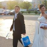 Cea mai tare faza de la nunta noastra a fost …