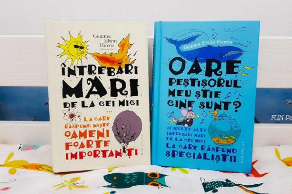 """Cărți pentru copii – """"Întrebări mari de la cei mici … la care răspund niște oameni foarte importanți"""""""
