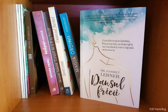 """Dansul fricii"" – Harriet Lerner 📚 De citit"
