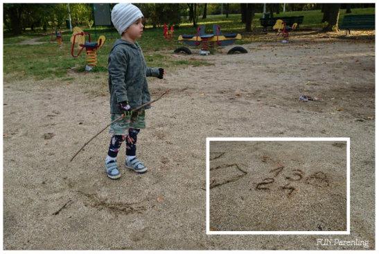 Activitati de invatare cu nisip – afara sau in casa