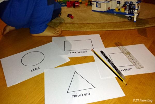 Asociere cu forme geometrice