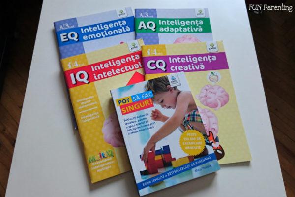 Caiete de lucru Montessori – Editura Gama