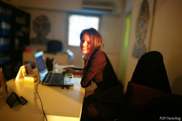 Diminetile de gradinita si cum ajung deja obosita la birou … uneori