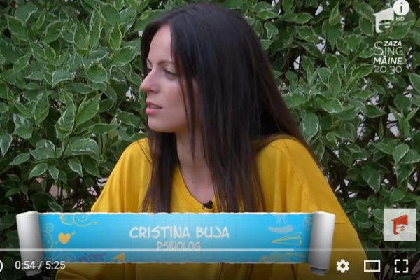 Interviu Antena 1 – Despre dezvoltarea emotionala a copiilor