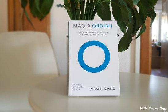 """""""Magia ordinii"""" – Marie Kondo– 📚 De citit"""