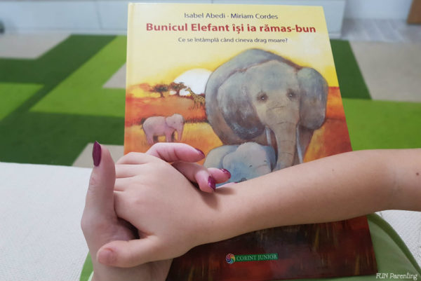 """Cărți pentru copii – """"Bunicul Elefant își ia rămas bun"""""""
