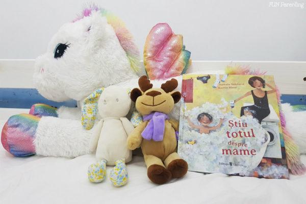 """Cărți pentru copii – """"Știu totul despre mame"""""""