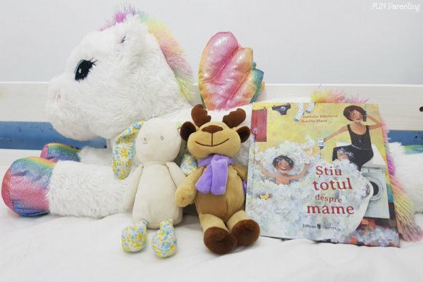 """""""Știu totul despre mame""""– Cărți pentru copii"""