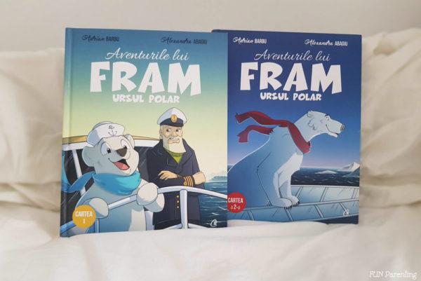 Aventurile lui Fram Ursul Polar– Cărțile preferate ale copilului meu