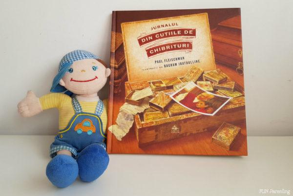 """""""Jurnalul din cutiile de chibrituri"""" – Cărți pentru copii"""