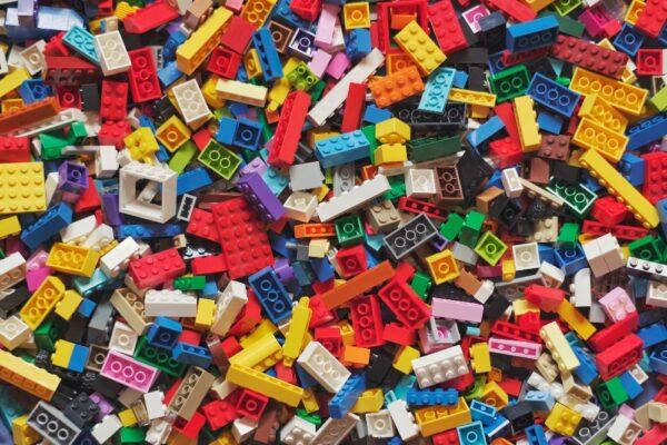 "Joc ""X și O"" din piese Lego"